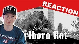 SAMRA - MARLBORO ROT (PROD. BY LUKAS PIANO & GRECKOE) REACTION