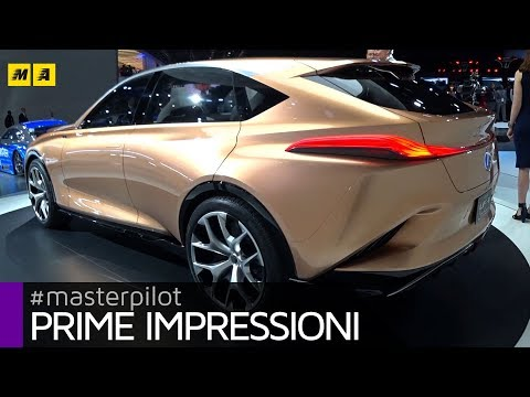Lexus LF-1 Limitless, in arrivo la anti BMW X7 e Range Rover | Live from Detroit