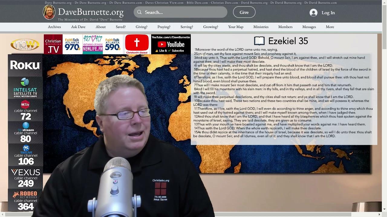 Ezekiel 35 ✒️ Defeated