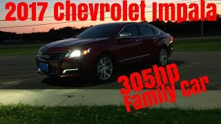 2017 Chevy Impala Premier V6 - 0-60 & Review