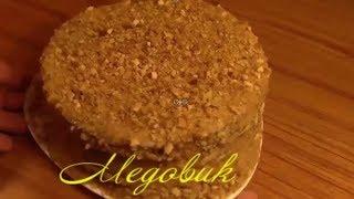 Диетический торт медовик по диете  дюкан