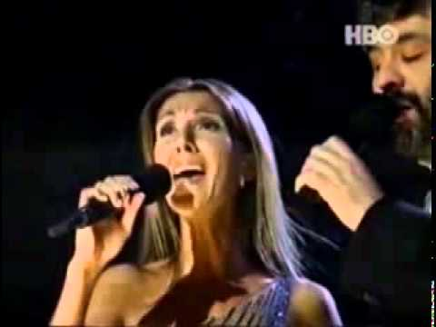 The prayer, Celine in concert, Grammy, ft Andrea Bocelli.mp4