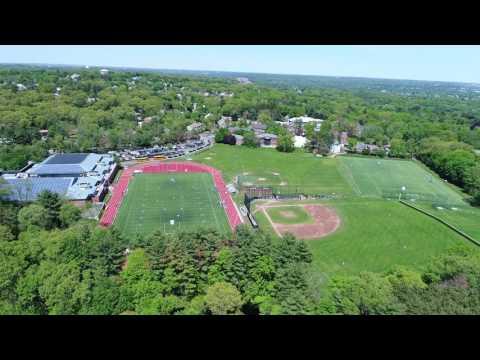 Belmont Hill School Reunion 2017 Drone Video Loop around track