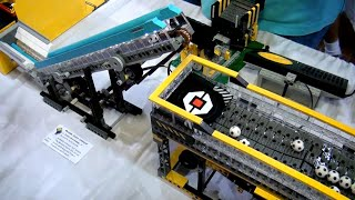 LEGO great ball contraption Rube Goldberg machine - BrickFair Virginia 2014