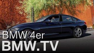 Ideallinien. Das neue BMW 4er Gran Coupé.