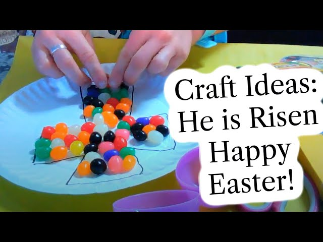 Craft Ideas: Happy Easter! John 20:1-18 for April 4, 2021