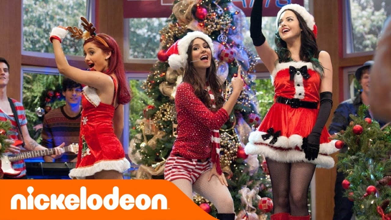 Victorious | It's Not Christmas Without You | Nickelodeon - YouTube