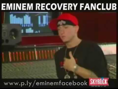 Eminem Talks About Encore, 'Like Toy Soldiers' & 'Mosh'   2004 Skyrock