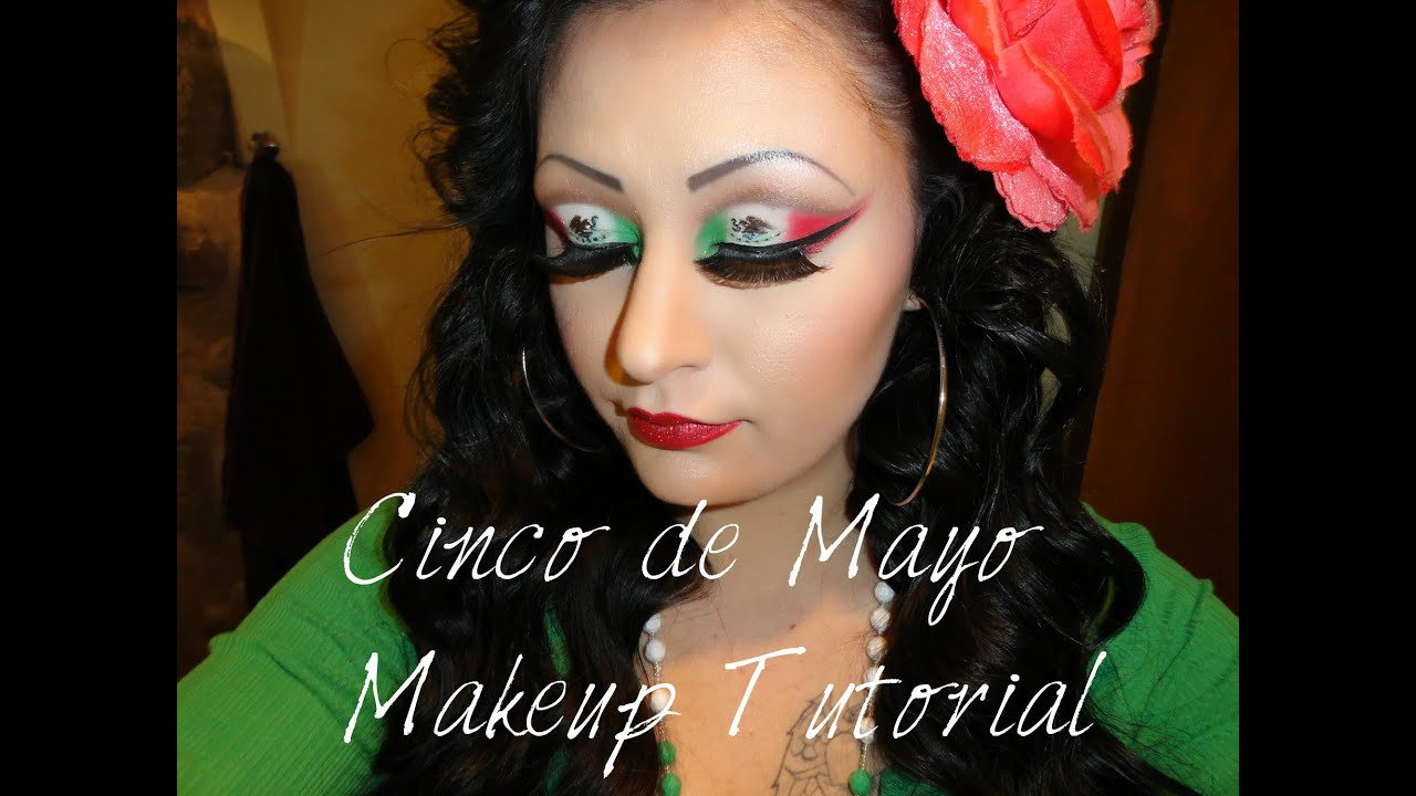 Mexican flag makeup tutorial youtube mexican flag makeup tutorial baditri Images