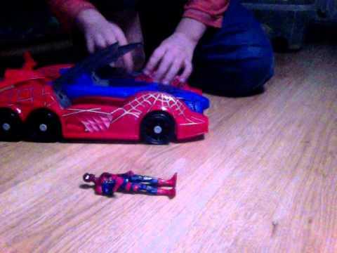 Spider man et sa voiture partie 2 youtube - Spiderman voiture ...