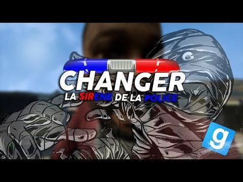 ON CHANGE LA SIRÈNE DE POLICE ! LES JOUEURS PÈTENT UN CABLE ! | Garry's Mod DarkRP