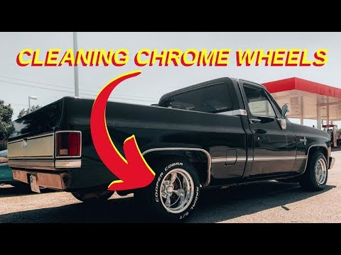 BEST WAY TO CLEAN CHROME WHEELS (EASY STEP-BY-STEP)