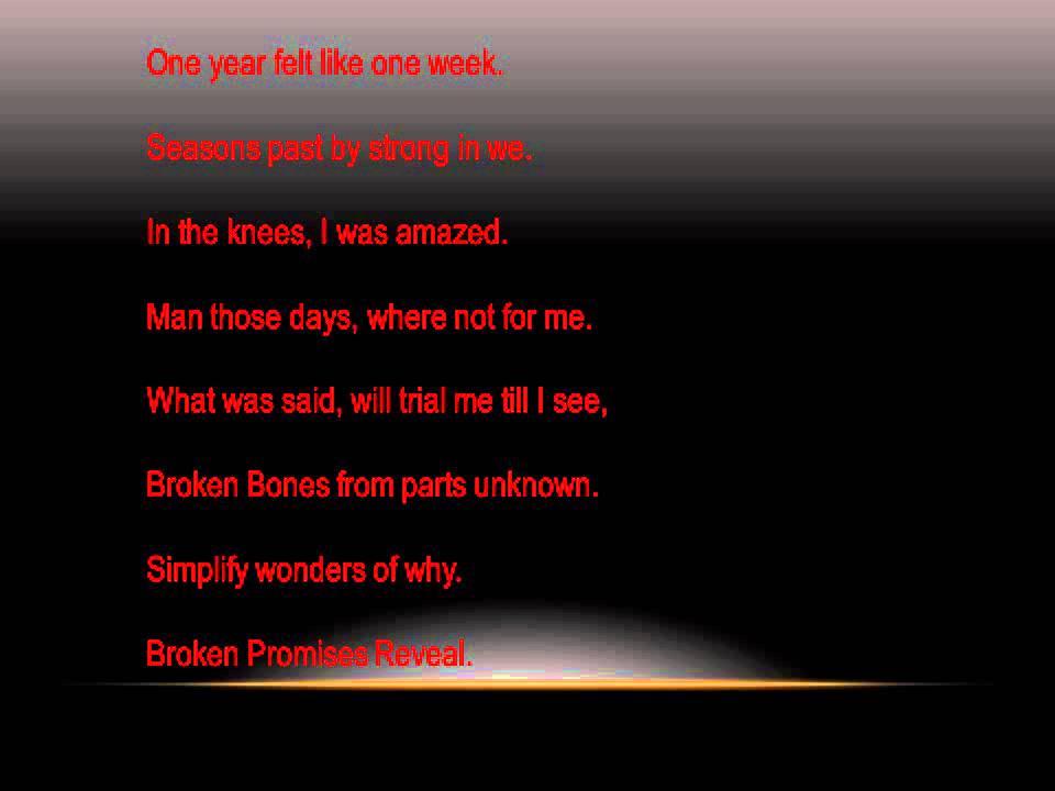 Lyric bones lyrics : TNA Jeff Hardy Lyrics For Reveal - YouTube