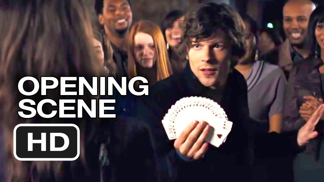 Now you see me official opening scene 2013 mark Film hd me