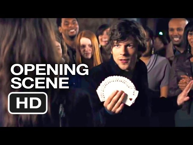 Now You See Me Official Opening Scene (2013) - Mark Ruffalo, Morgan Freeman Movie HD Travel Video