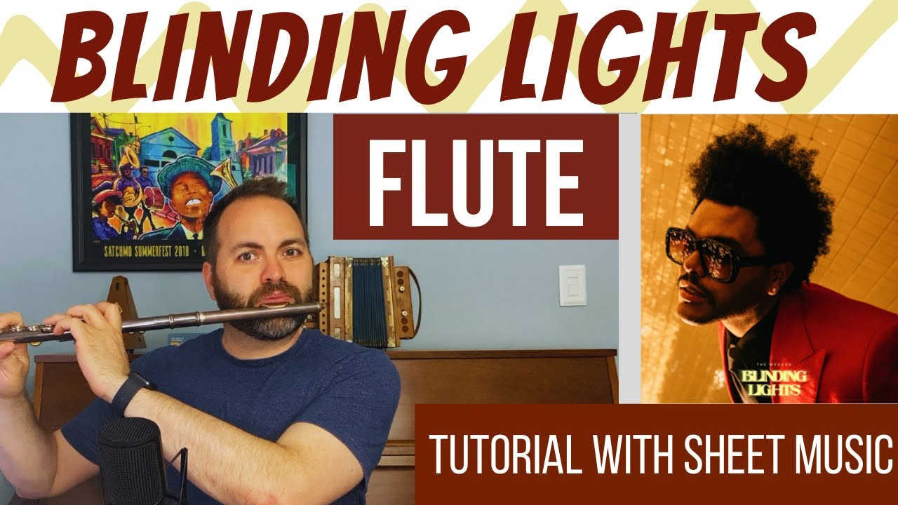 Blinding Lights by The Weeknd - FLUTE Tutorial