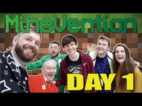 Event|Cast - MineVention Day 1
