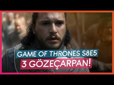 GAME OF THRONES S8 E5 SPOILER'LI İZLENİM!!