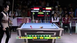 27th SEA GAMES MYANMAR 2013 - Billiards 14/12/13