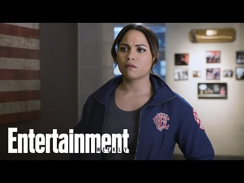 Monica Raymund Announces Chicago Fire Exit   Flash  Entertainment Weekly