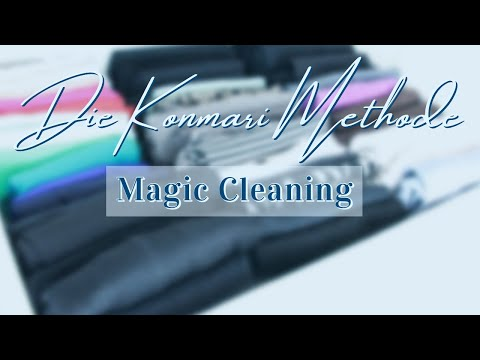 das buch magic cleaning von marie kondo minimalismus youtube. Black Bedroom Furniture Sets. Home Design Ideas