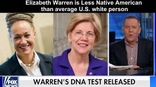 Elizabeth Warren Less Native American than average U.S. white person
