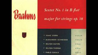 Brahms-Sextet for Strings  No. 1 in B flat Major Op. 18 (Complete)