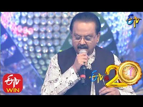 SP Balu Performs - Prema Prema Song in ETV @ 20 Years Celebrations - 16th August 2015