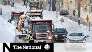 Service delays pile up following N.L. blizzard