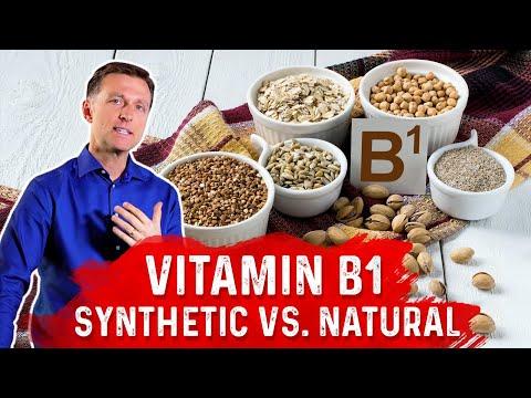 Vitamin B1: Synthetic vs. Natural