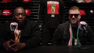 VOX ATL Interviews Run the Jewels at Phillips Arena
