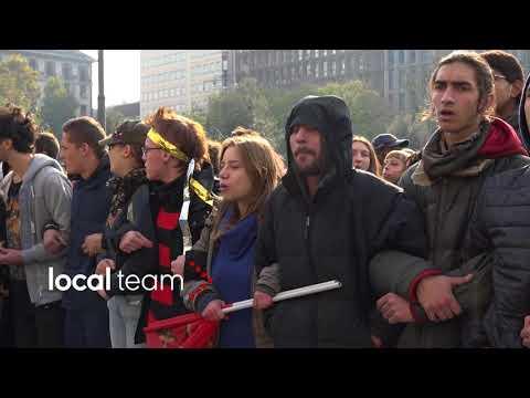 Corteo studenti 17 novembre 2017: scontri con la polizia a Milano