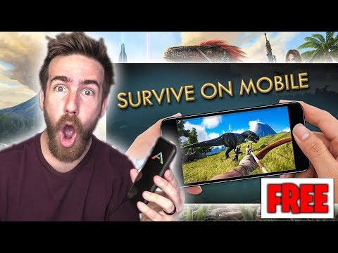 THE BEST FREE CELL PHONE GAME IS OUT NOW! - Ark:Survival Evolved