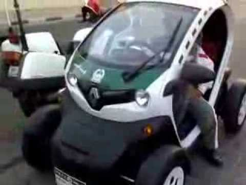 8 Seater Vehicles >> RENAULT TWIZY - DUBAI POLICE SPECIAL EDITION - YouTube