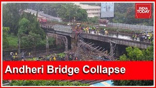 6 Injured In Mumbai Footover Bridge Collapse In Andheri; India Today Reports From Accident Site