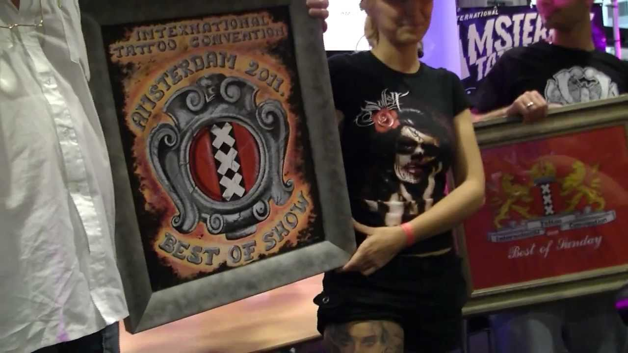 Amsterdam Tattoo Convention 2011 Best Of Show Tattoo Prize