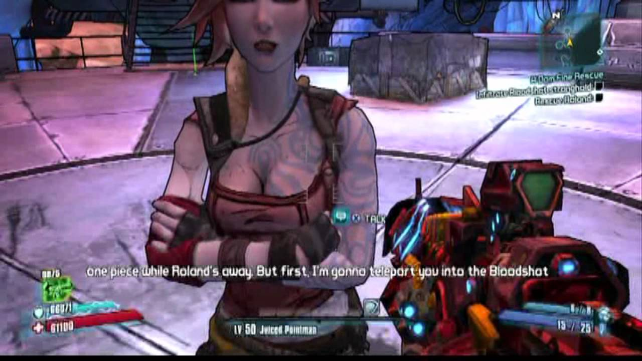 borderlands 2 lilith and roland relationship questions