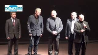 Актер А Стриженов на фестивале в Бельцах Дни Российского кино 30 10 14