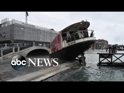 Climate change blamed for deadly, damaging floods in Italy l ABC News