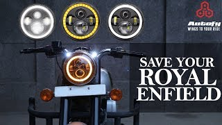 LED Headlight for Royal Enfield | Install At Home | Important Headlight Points for Headlight- Autofy