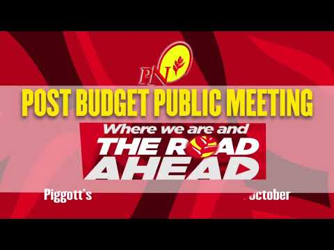 PNM - National Post Budget Meeting - 2017