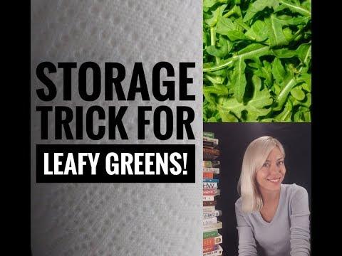 Keep your leafy greens fresh longer!