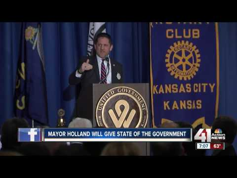 Mayor Holland will give state of the government on Tuesday