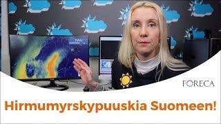 Hirmumyrskypuuskat Suomeen