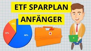ETF Sparplan ab 25€ einrichten Praxisbeispiel - Portfolio Schritt-für-Schritt für Anfänger 🛠