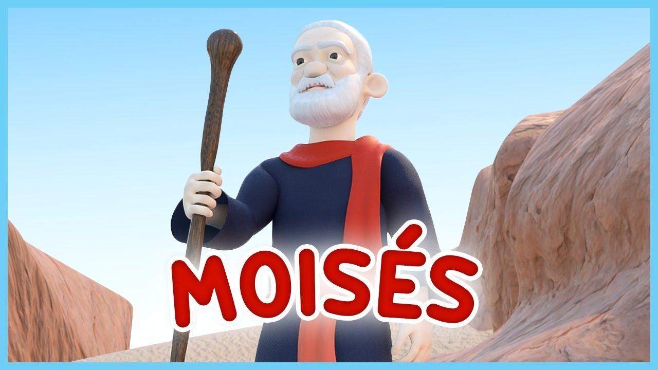 Moises -  Musica Cristiana para niños - Videos Cristiano para niños