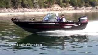 2015 Ranger VS1780 Deep Vee Aluminum 17' Fishing Boat