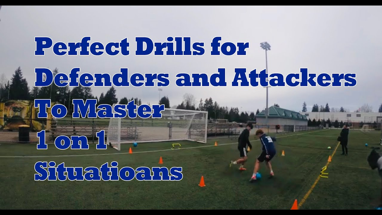 U12 U13 U14 U15 1vs1 Drill Attack Drills