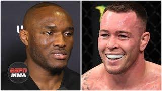 Kamaru Usman: Colby Covington and I are like water and oil | UFC 245 | ESPN MMA