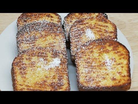 pain-perdu-cuit-au-four-trÈs-facile-(cuisine-rapide)